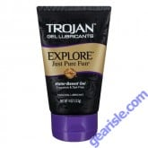 Trojan Water-Based Gel Personal Lubricant 4 Oz