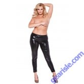 Wet Look Leggings Kitten Plus 16-9002XK