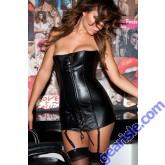 Leather Corset Dress 17-105