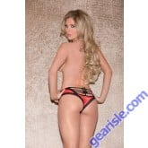 Glitter 30006 Lace Panty With Horizontal Strappy Back Lingerie