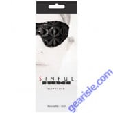 Sinful Black Blindfold by NS Novelties