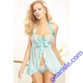 Fantasy Nightwear Sexy Babydoll Blue Beauty Lingerie 5226 Style
