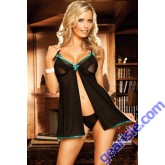 Hot Women's Sexy 5234 Lingerie Lace Dress Underwear Babydoll G-string