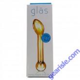 Glas Handmade Honey Dripper Anal Slider Glass Dildo