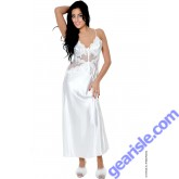 Venice Lace Charmeuse Bridal Gown Lace-up Back 6074 Vx Intimate