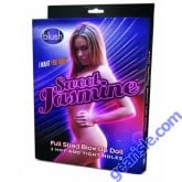 Sweet Jasmine Full Sized Blow Up Sex Doll Blush Novelties