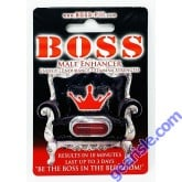 Boss Male Energizer Sexual Enhancement Red Pill