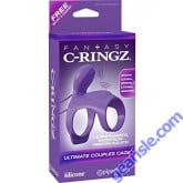 Silicone Ultimate Couples Cage Vibrating Fantasy C-Ringz