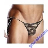 Pro Mesh Camo Side Tie Bikini Blueline BLM009