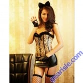 Sexy Cat Girl Costume 8527