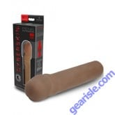 CyberSkin Penis Extension 2 Xtra Thick Dark Color