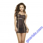 Dream Girl 9303 Haute Nights Chemise and G-string 2PC Set