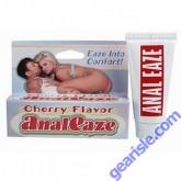 Anal Eaze Cherry Flavor Anal Sex Lubricant .5 oz (14ml) Tube