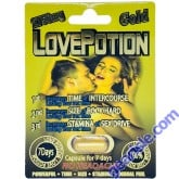 Love Potion Gold 2750mg Male Sexual Enhancement Pill