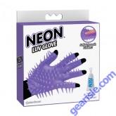 Neon Luv Glove Purple