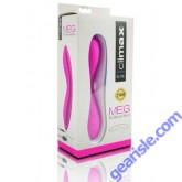MEG 9x Silicone Wand Rechargeable Vibe Pink Climax