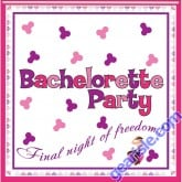 Bachelorette Party Napkins Trivia Game By Hottproducts 10 Pack