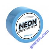 Neon Pleasure Tape Blue Non Sticky Bondage
