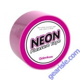 Neon Pleasure Tape Pink Non Sticky Bondage