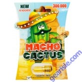 New Macho Cactus 300000 Male Sexual Enhancement Gold Pill