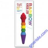 Rainbow Sex Toys Knob Job