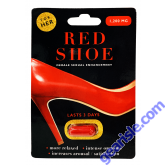 Red Shoe 1200 mg Female Sexual Enhancement Red Pill