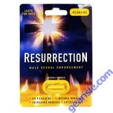 Resurrection 43000mg Male Sexual Performance Enhancer Gold Pill