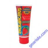 Dickalicious Penis Arousal Gel Strawberry 2 oz