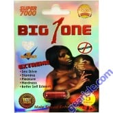 Big 1 One Super 7000 Extreme Male Sexual Enhancer Pill No Headache