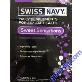 Sweet Sensations Male Enhancement 4 Tablets Swiss Navy