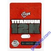 Titanium 12K Male Enhancement Energy Supplement Pill