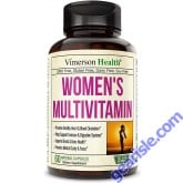 Womens Multivitamin with Zinc Biotin Calcium Vegetarian 60 Pills