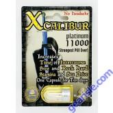 Xcalibur Platinum 11000 Male Sexual Performance Enhancement Pill