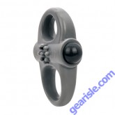 Charged Yoga Vibe Double Cock Ring Grey ScreamingO