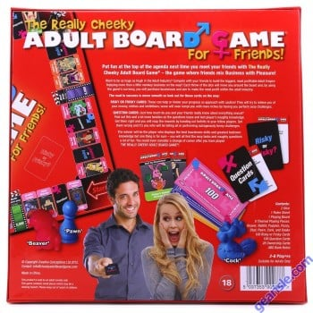 The Really Cheeky Adult Board Game - Creative Conceptions USREAL