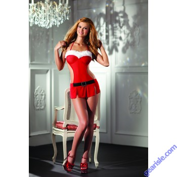 Santa's Naughty Little Helper Costume Be Wicked BW1343 2 Piece