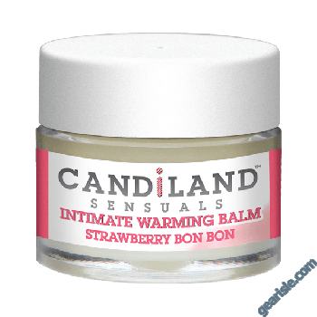 Candiland Sensual Intimate Warming Balm Strawberry Bon Bon
