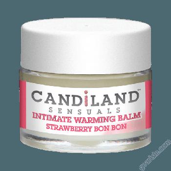 Candiland Sensual Intimate Warming Balm Strawberry Bon Bon