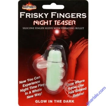 Frisky FIngers Night Teaser Glow In The Dark