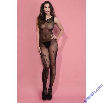 Lady's Keller Legs Fishnet Body Stocking 818JT070 Yelete Group