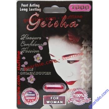 Geisha For Women Pleasure Confidence Passion Enhancer Orgasm Inducer by U&A Nature Biotech
