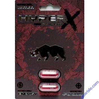 Rhino X 3000mg 2 Pills Bundle Male Sexual Performance Enhancer by Rhino X