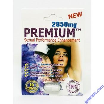 New Premium 2850mg Sexual Performance Enhancement