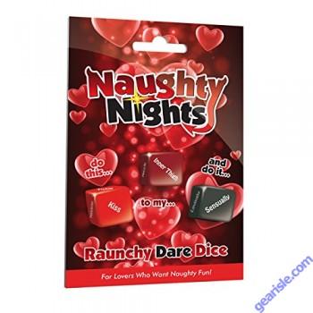 Naughty Nights Raunchy Dare Dice Game by XXXtra Naughty Nights