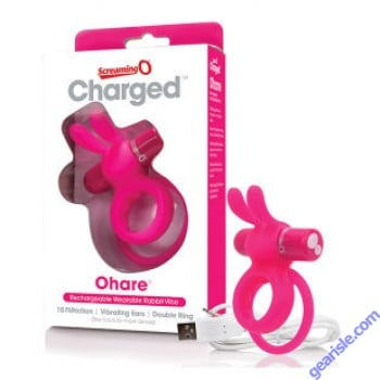 Charged Ohare Rabbit Vibe Pink ScreamingO