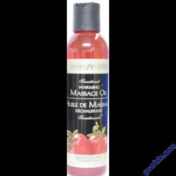 Lover's Choice Strawberry Massage Oil & Cream