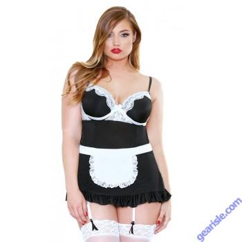 Night Service Maid Costume Curve P161