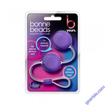 Bonne Beads Weighted Kegel Balls Purple Blush Novelties