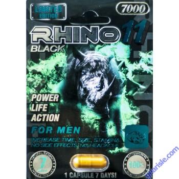 Black Rhino 11 7000 Male Sexual Enhancer Pill 7 Days
