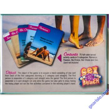 Sex On the Beach Erotic Getaway Game